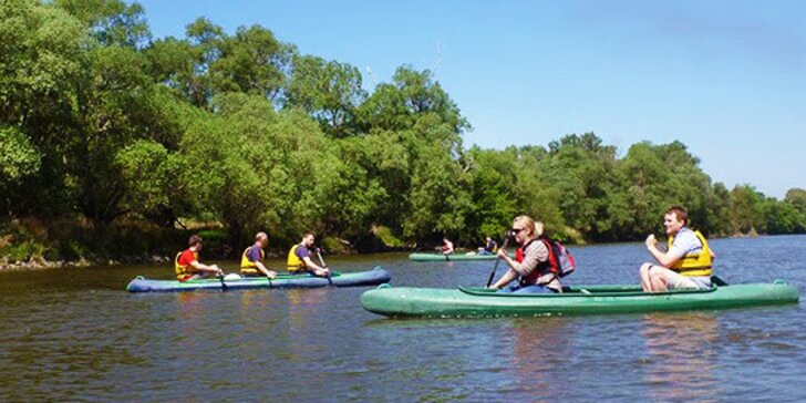 Plavte sa po Malom Dunaji indiánskym štýlom - na kanoe! Akcia vhodná aj pre deti