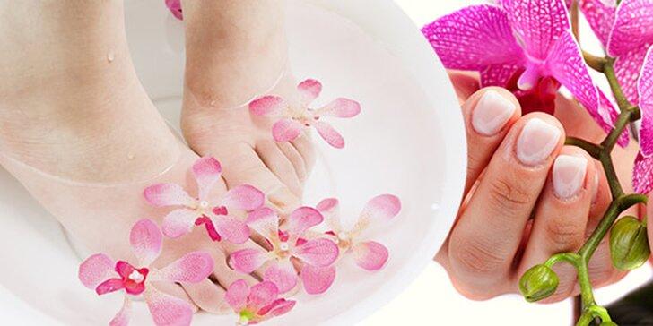 Precízna japonská manikúra alebo mokrá pedikúra