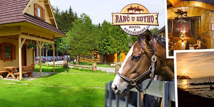 Oravská dovolenka na ranči, s jazdou na koni a ďalšími aktivitami