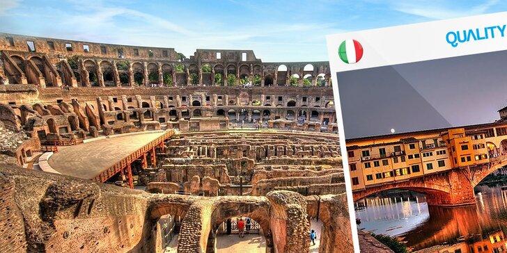 Poznávací zájazd do Ríma, Benátok a Florencie
