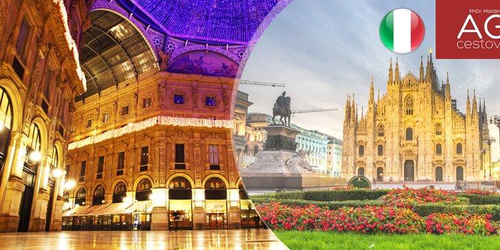 Zájazd do Milána a návšteva výstavy EXPO MILANO