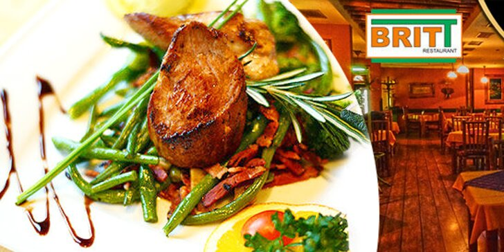 Gastronomický zážitok: steak z bravčovej panenky