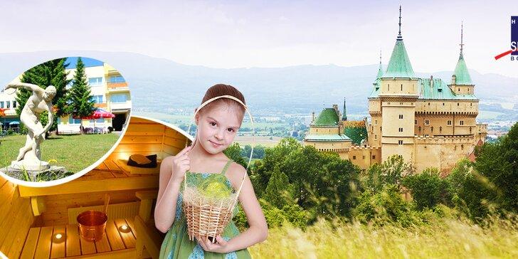 Veľkonočný wellness pobyt v Hoteli Športcentrum*** Bojnice + dieťa do 12 rokov ubytovanie ZDARMA