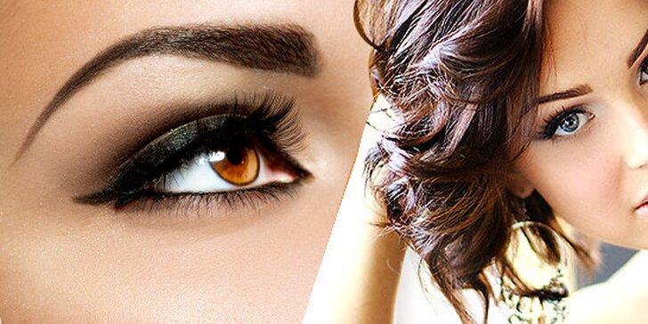 Permanentný make-up obočia klasickou alebo čiarkovanou metódou