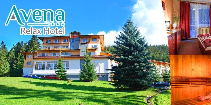 Relax a jarná lyžovačka pre 2 osoby v Relax Hoteli*** Avena v Jánskej doline