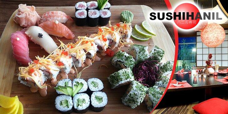Znamenitý jarný sushi set pre 2 osoby