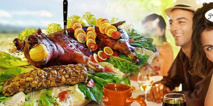 Pečené prasiatko v reštaurácii alebo u vás doma