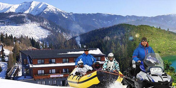 Jarný lifting & lyžovačka v hoteli Bachledka priamo na svahu v Ski Bachledova
