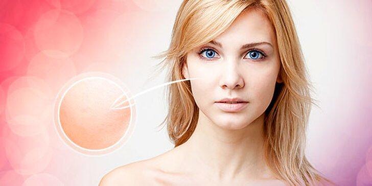 Diamantová mikrodermabrázia a ultrazvukové čistenie tváre