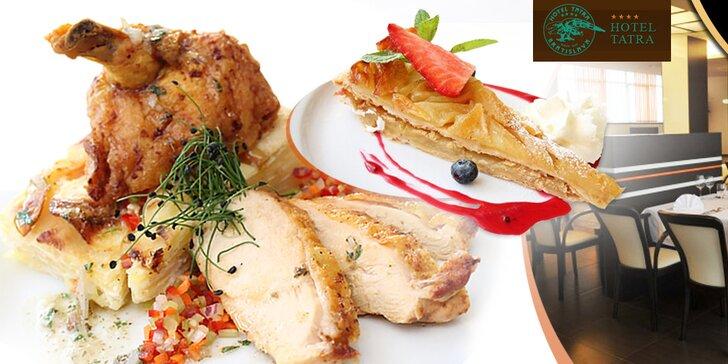 Francúzske culinárium v Hoteli Tatra**** pre dvoch