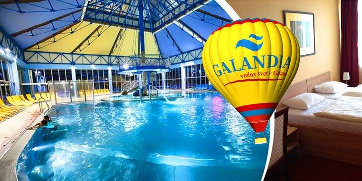 Ubytovanie na 1 noc či víkendový pobyt pre 2 osoby s návštevou Galandie a s možnosťou letu balónom