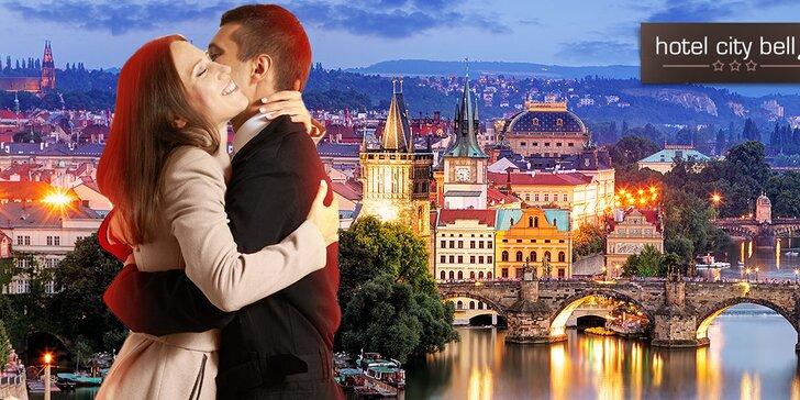 Hotel CityBell*** príjemný pobyt v Prahe pre dvoch s raňajkami + deti do 3 r. zdarma