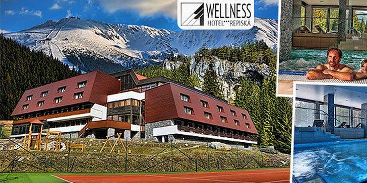 Horský relax či rodinná dovolenka vo Wellness Hoteli*** Repiská