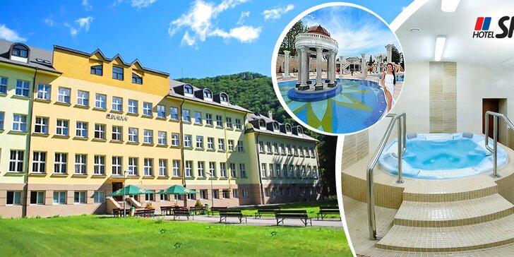 Veľkonočný aktívny oddych v Rajeckých Tepliciach v hoteli SKALKA***