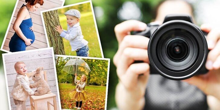 Profesionálne fotografovanie v ateliéri i exteriéri