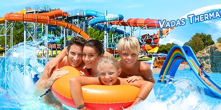 Vstup do Vadaš Thermal Resort pre 1 alebo 3 dospelých