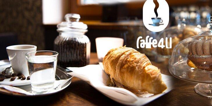 Ochutnajte exkluzívnu kávu a dajte si k nej croissant či domácu bábovku