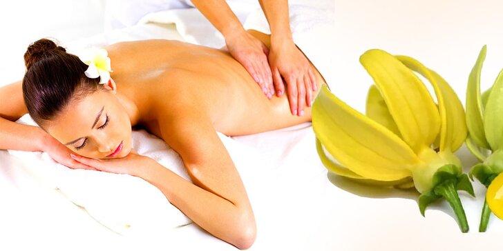 60-minútová masáž celého tela s BIO prírodnými olejmi