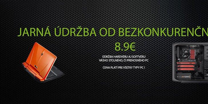 Notebook ako nový. Servis od 8.90 eur