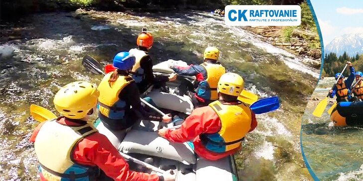 Nezabudnuteľný adrenalínový XXL rafting na rieke Belá