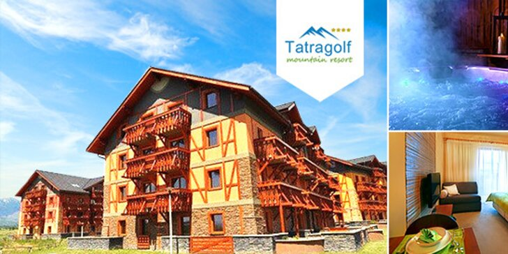 Naplánujte si rodinnú letnú dovolenku v predstihu v Tatragolf**** Mountain Resort