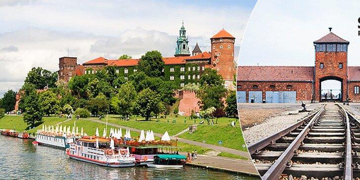 Celodenný zájazd do Osvienčimu a Krakowa s nástupnými miestami z celého Slovenska bez doplatku!