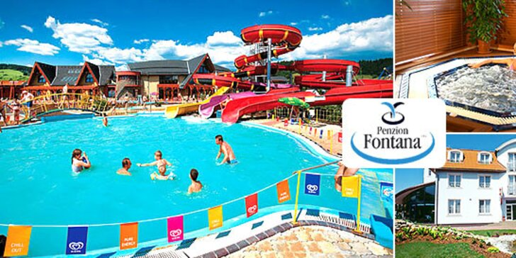 Wellness & Aquapark pobyt v Bešeňovej s 50 % zľavou do GINO PARADISE