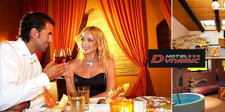 Relax a wellness pre páry aj rodiny v Hoteli Dynamic***