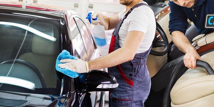 Kompletné umytie exteriéru aj interiéru, ozónovanie, tepovanie a ďalšie služby