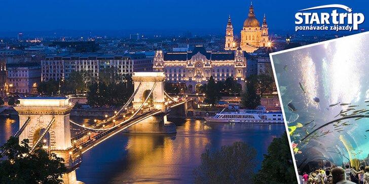Historická Budapešť s návštevou Tropicaria