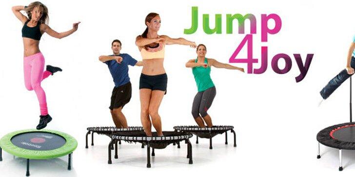 Jump4Joy - skupinové cvičenie jumping na trampolínach pre deti aj dospelých!
