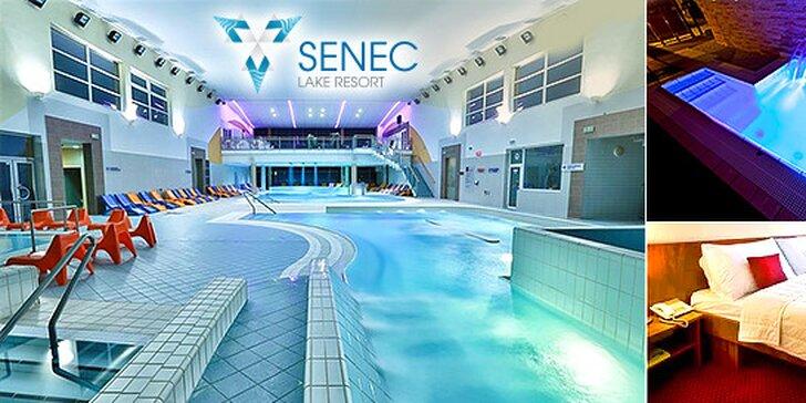 Wellness & Aquapark pobyt v Hoteli Senec Lake Resort****. Až 2 deti do 6 r. alebo 1 najmladšie dieťa do 12 r. zadarmo!
