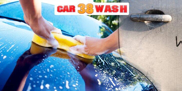 Ručné umytie alebo ochrana karosérie auta