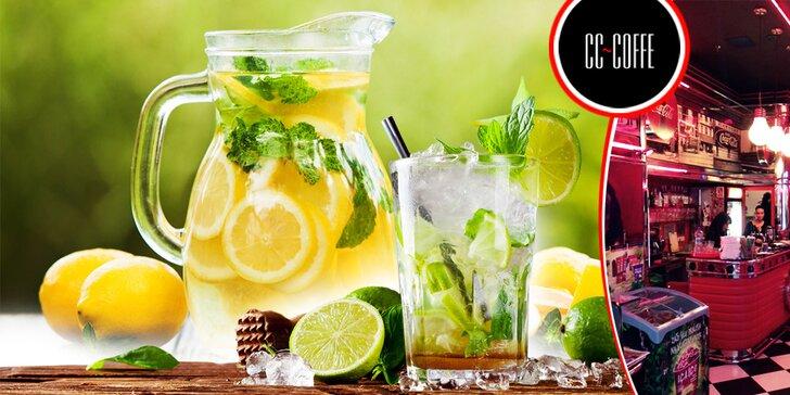 Limonády, nealko mojito, ľadová káva alebo káva s marlenkou - skvelé osvieženie, 1 + 1 grátis!