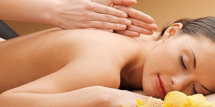 Klasická 60 minútová masáž, alebo bankovanie v salóne Bella Dea
