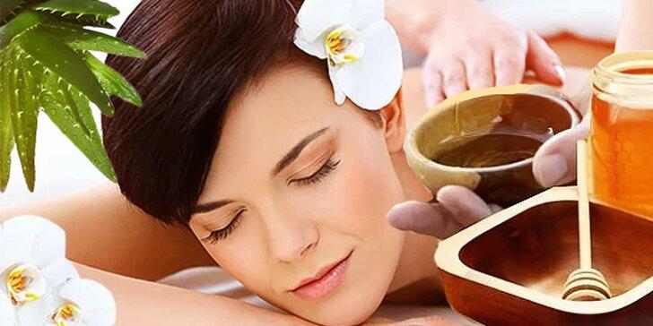 Klasická, kokosová, aloe vera, medová a čokoládová masáž