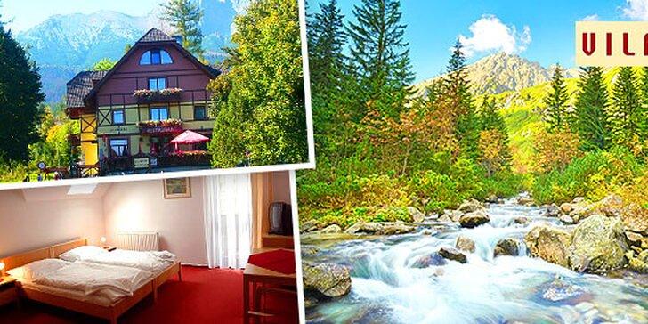 Pobyt v Tatranskej Lomnici v Hoteli VILA PARK*** + 2 deti do 14 rokov ZDARMA!