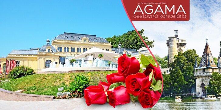 Zájazd na festival ruží v Badene a návšteva zámku Laxenburg