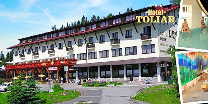 Pobyt pre dvoch pri Štrbskom plese v Hoteli Toliar***, 1 dieťa do 6 rokov zadarmo