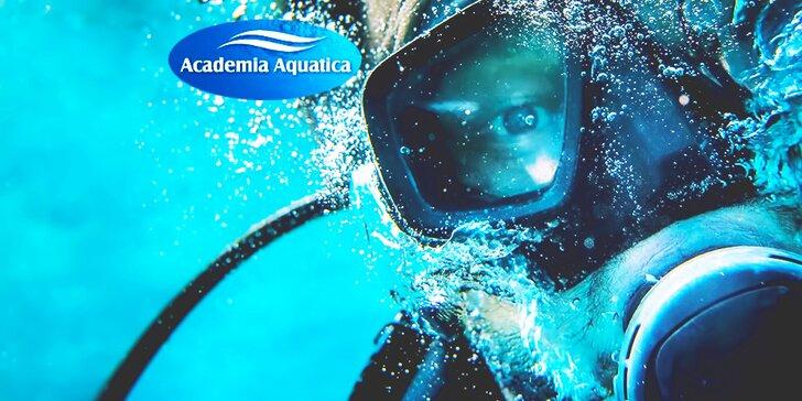 Kurz potápania pre začiatočníkov PADI Open Water Diver