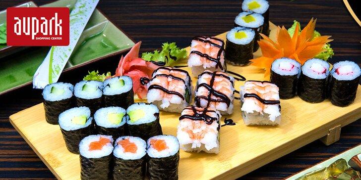 Sushi set v Sushi bare Sunshine v Auparku