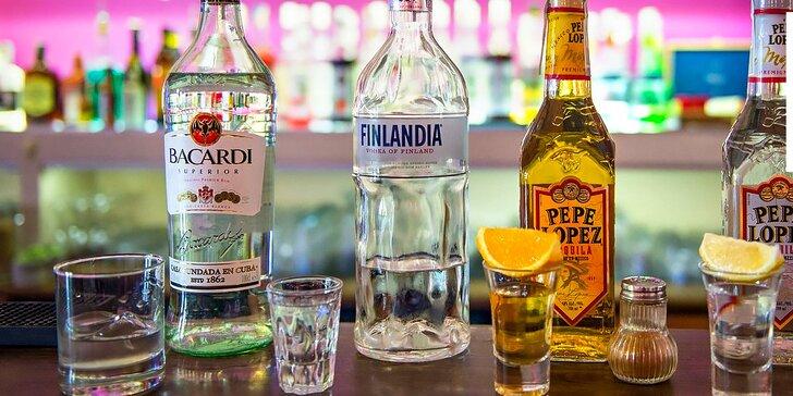 Alko panáky v POLEPOLE caffe & cocktail bar