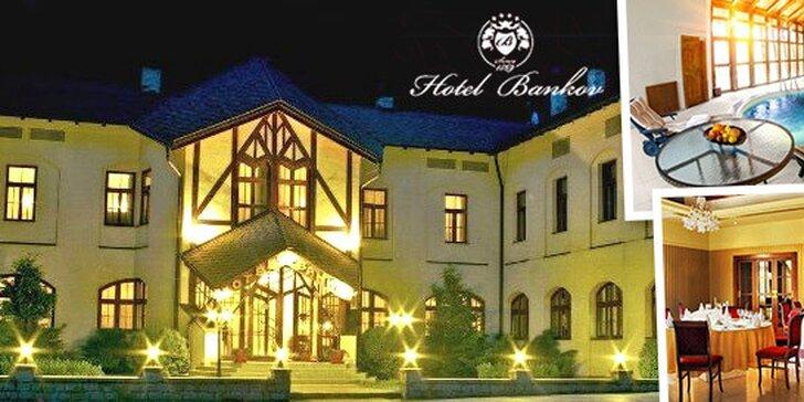 Wellness pobyt v historickom Hoteli Bankov**** v Košiciach na 3 alebo 4 dni. Aj last minute!