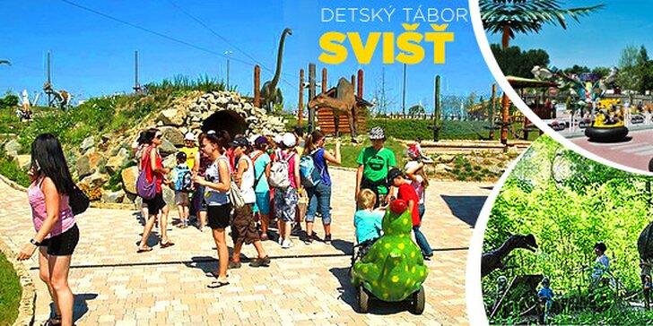 Obľúbený detský tábor Po stopách Tatranských dinosaurov, veľa zážitkov, 3 celodenné výlety a kvalifikovaní animátori!