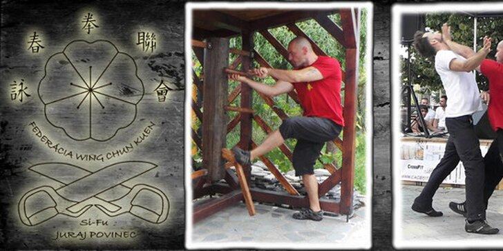 Mesačný kurz bojového umenia WING CHUN s 50% zľavou!