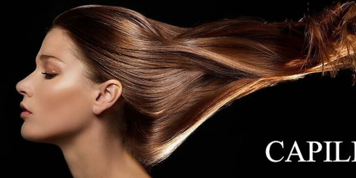 Profesionálny strih a ošetrenie vlasov v salóne Capillus