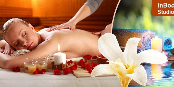Klasická či relaxačná masáž chrbta alebo celého tela