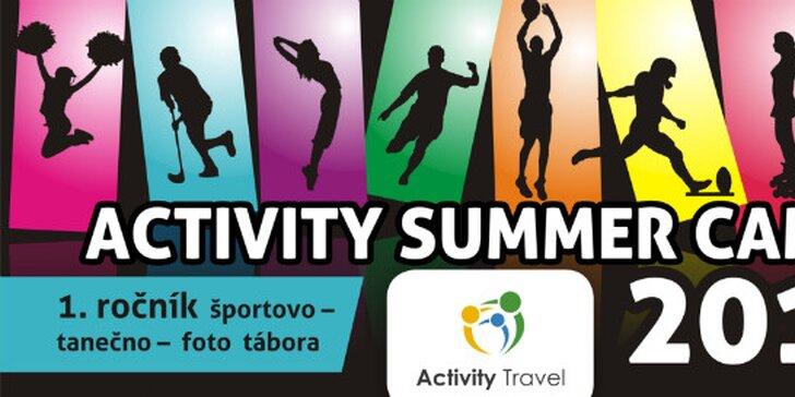 LAST MINUTE PONUKA Activity Summer Camp 2015 - letný pobytový športovo – tanečný - foto tábor
