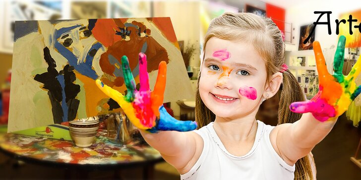 Denný detský výtvarný tábor pre vašich malých umelcov