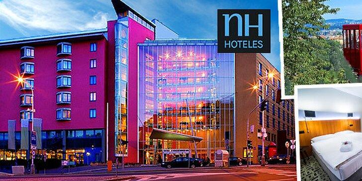 Luxusný pobyt v hoteli NH Prague**** v centre Prahy